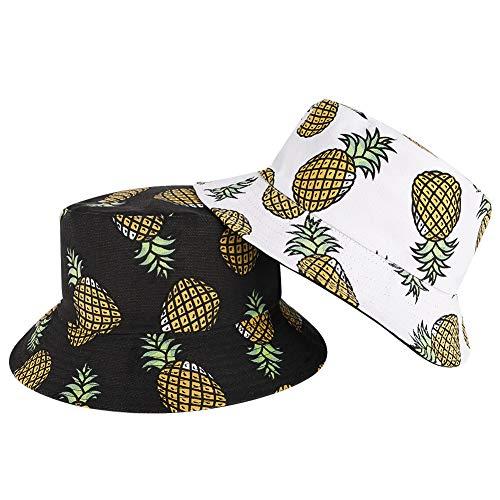fanshiontide 2 Piezas Sombrero de Pescador de Algodón de...