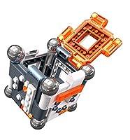 Costruzioni per bambini con magneti 6 pannelli magnetici in diversi colori per costruire 8 palline di metallo non magnetiche 7 mattoncini da costruire e personalizzare Include magneti piccoli, istruzioni per la costruzione e attività educative L'app ...