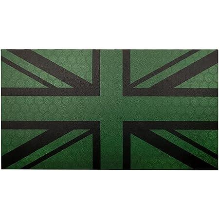 Ohrong Union Jack Embroidered Tactical Patch UK National Flag Armband Morale Badge Emblem Applique