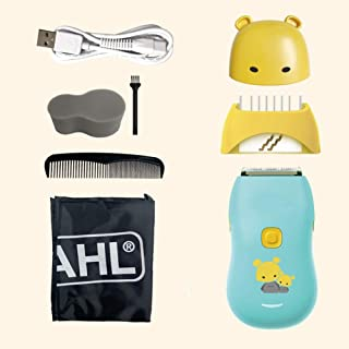 Baby Hair Clippers, Quiet Waterproof Baby Haircut Trimmer, USB Rechargeable Cordless Electric Hair Clippers with USB Cable...