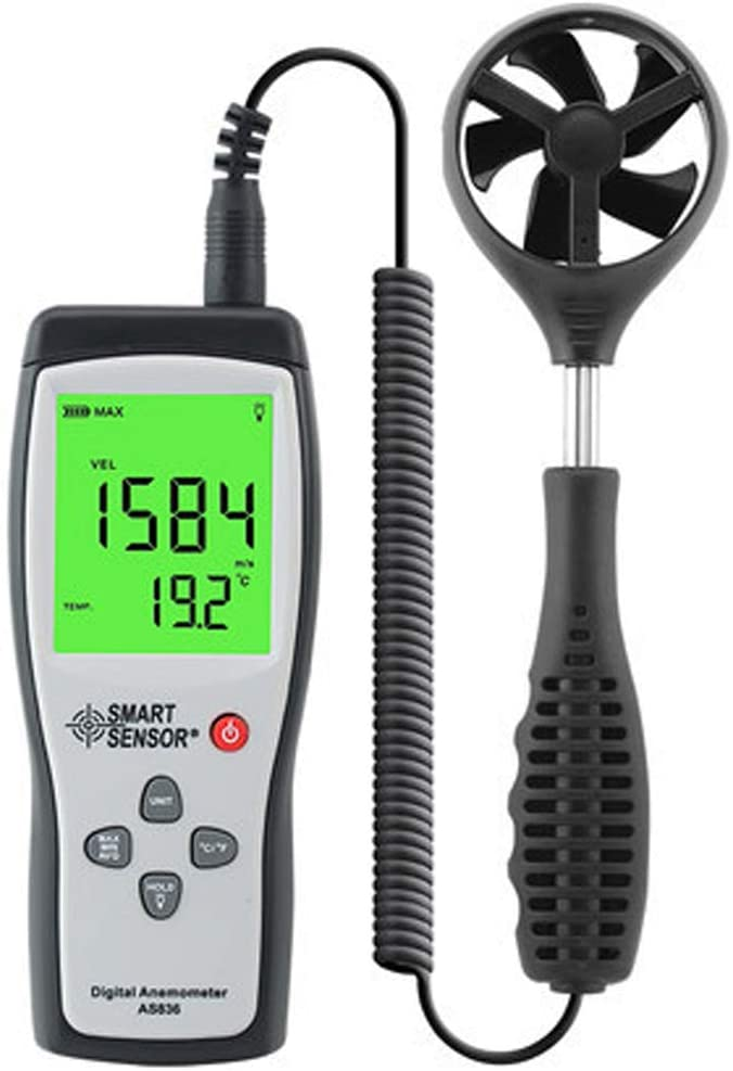 Digital 5% OFF Anemometer Wind Max 59% OFF LCD Speed