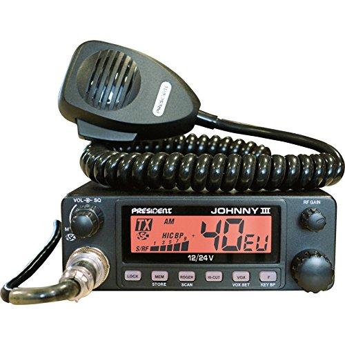 Président Johnny III ASC CB Autoradio récepteur multimédia numérique (12/24 V)
