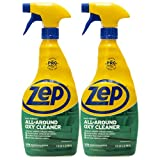 Zep All-Around Oxy Cleaner and Degreaser 32 Ounce ZUAOCD32 (Pack of 2) - Great for Pet Messes, Upholstery, Hard Surfaces, and More!