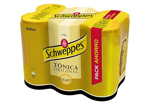 Schweppes Tónica, 6 x 33cl