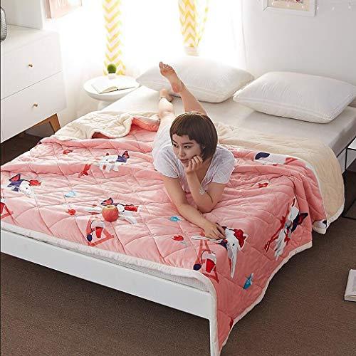 Willlly La Peine d'Avoir Rose Animal Casual afbeelding Chic dikke warm winter studenten slaapkamer handdoek deken flanel (grootte 200 x 230 cm) 120*200Cm Kleur: zwart/bruin,