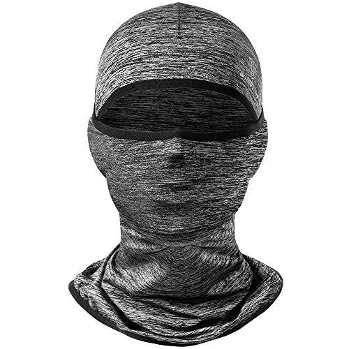 Mimoke Passamontagna Maschera Protezione UV Seta del Ghiaccio per Uomo Donna Cappuccio Parasole Ciclismo, Arrampicata, Corsa, Bici