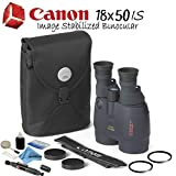 Canon 18x50 is Image Stabilized Binocular Starters Bundle