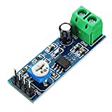 Ardest 200 Times Gain LM386 Audio Amplifier Amplitude Module Board with Adjustable Resistance Control Potentiometer for Arduino Raspberry Pi or Musical Projects(Pack of 5)