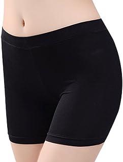 4ac2c3d8fecb2 IBLUELOVER Panty Coton Modal Legging Courts sous-Vêtements Culotte Femme  Pantalon Respirant Lingerie sous Robe