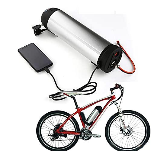 YBSY Batería para Botella de Agua para Bicicleta eléctrica de 24 V/batería de Iones de Litio para Bicicleta eléctrica con Cargador y Placa de protección BMS para Motor de 250 W 350 W,24V 15AH