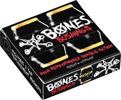 Bones Wheels Medium Bushings (2 Set), Black