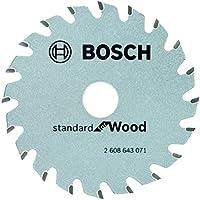 Bosch Professional 2 608 643 071 Bosch 071-Hoja de Sierra Circular Optiline Wood-85 x 15 x 1,1 mm, 20 (Pack de 1)