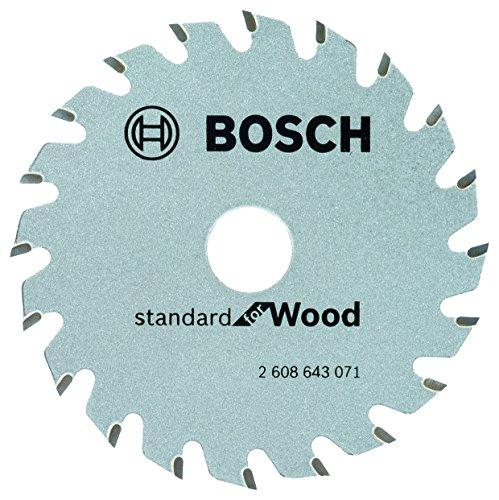 Bosch Professional Kreissägeblatt Optiline Wood zum Sägen in Holz für Handkreissägen Ø 85mm, 20 Zähne