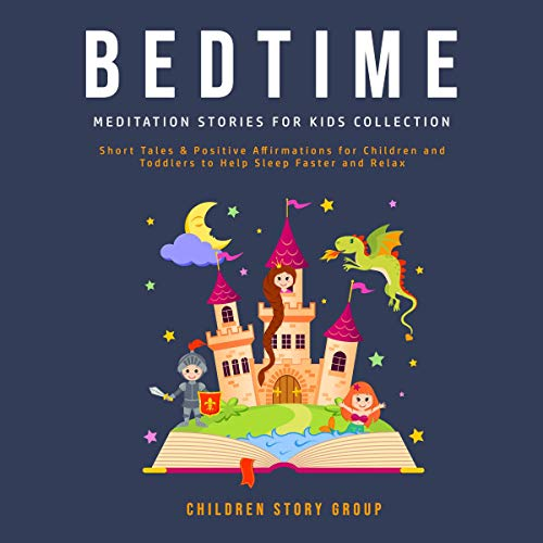 Bedtime Meditation Stories for Kids Collection cover art