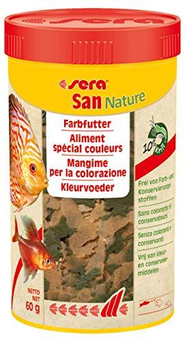 Sera San Nature 250 ml Nature (ohne Farb- & Konservierungsstoffe)