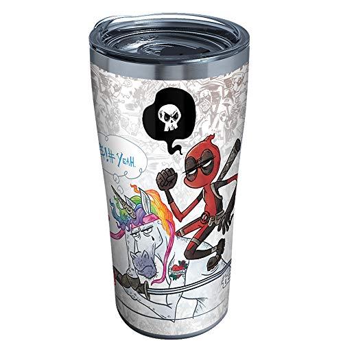 Tervis Marvel - Vaso aislante de triple pared Deadpool, 20 onzas, acero inoxidable, Let's Do This
