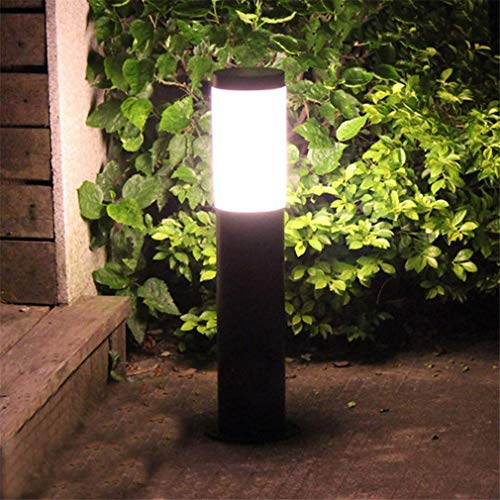 XXLYY Post Cap Lights, Acrylic Garden Pillar Light Outdoor Villa Patio Pathway Landscape Light,60CM