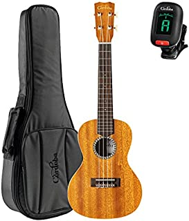 Cordoba 20CM Solid Top Acoustic Concert Ukulele with Deluxe Concert Gig Bag and Cordoba Tuner