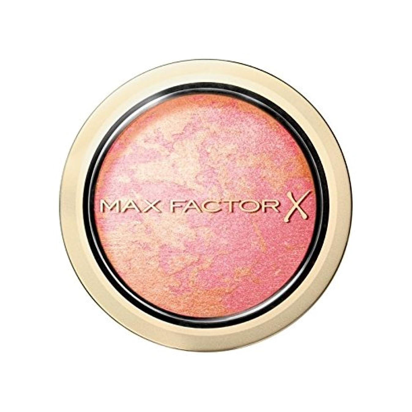 削除する試験もつれマックスファクタークリームパフブラッシャー美しいピンクの5 x2 - Max Factor Creme Puff Blusher Lovely Pink 5 (Pack of 2) [並行輸入品]