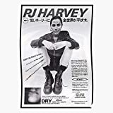 Band Polly Japan Pj Musician 90S Japanese Singer Harvey Jean Retro The Best and Style Home Decor Wall Art Print Poster !