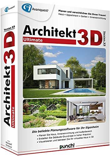 Preisvergleich Produktbild Architekt 3D X9 Ultimate DVD