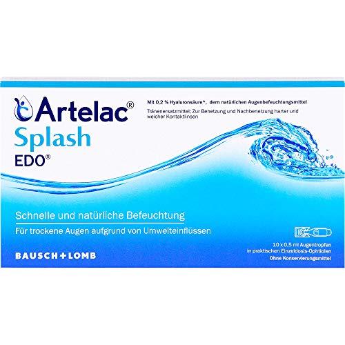 Artelac Splash Augentropfen EDO, 10 St. Einzeldosispipetten
