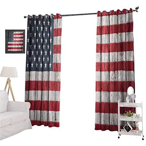 Buy Discount nooweihomeUSA BedroomCurtains Fourth of July Independence Day Adorn National Democrac...