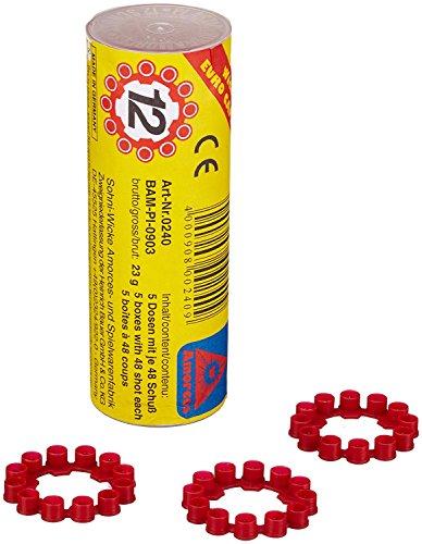 Sohni-Wicke 0240 Amorces 12 Schuss Ringmunition (5 Rollen = 1200 Schuss)