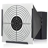 14cm Card Target Holder and Back Stop