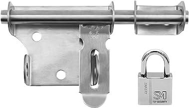"""INCREWAY Gesp Gebogen Klink, 5.9 """"Roestvrij staal Duurzaam Schuifbout Gate Klink met Hangslot Vat Bolt Klink Lock"""