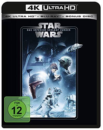 Star Wars - Das Imperium schlägt zurück  (4K Ultra HD) (+ Blu-ray 2D) (+ Bonus-Blu-ray) [Alemania] [Blu-ray]
