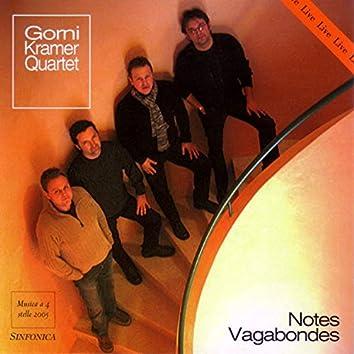 Notes Vagabondes Live