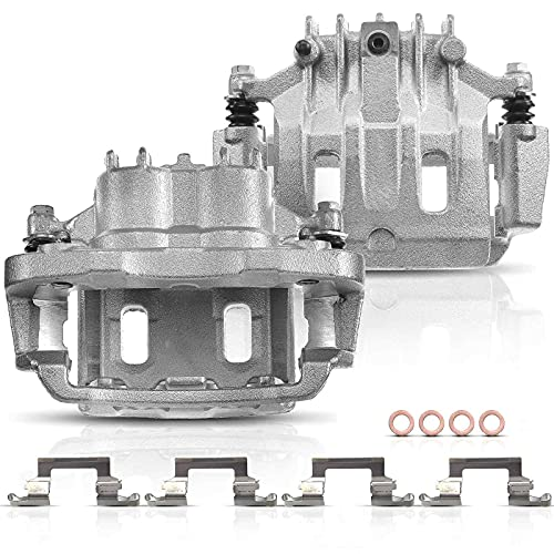 Set of 2 Rear Brake Caliper Assembly for Ford F-250 F-350 Super Duty 2000-2004...