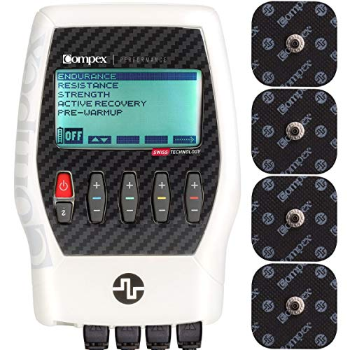 Compex Performance 2.0 Muscle Stimulator with TENS...