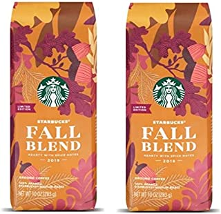 Starbucks Holiday Limited Edition Blend (A Limited Fall Blend 2019, 10 Ounce (Pack of 2))