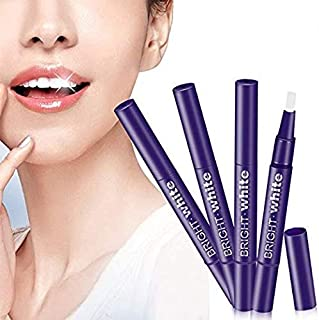 Teeth Whitening Pen, 4Pack Teeth Whitening Gel Pen with Safe 35% Carbamide Peroxide Gel Professional Pearl Teeth Whitening Kit, No Sensitivity, Natural Mint Flavor
