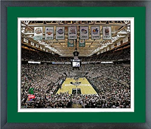 Michigan State University Spartans NCAA Framed Photograph Milestone Collage