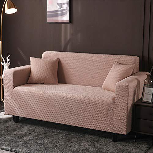 wjwzl Chaiselongue-Sofabezug, elastisch, rutschfest, für Wohnzimmer, Schlafzimmer, Sofa, (2 Sitze) 145x185cm