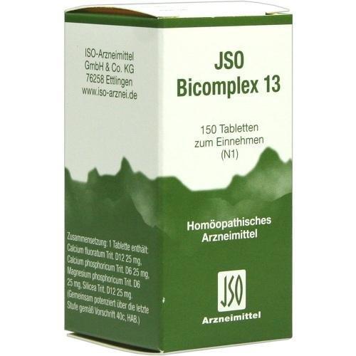 JSO BICOMPLEX HEILM NR 13 150St Tabletten PZN:544941