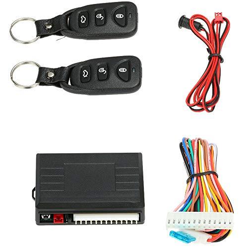 Rbaotech Kit de Bloqueo de Puerta Central Remoto Automático para Automóvil Universal Sistema de Entrada sin Llave Del Vehículo con 2 Controles Remotos