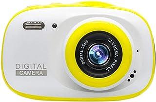 Cámara para niños Multifuncional niños Video Cámara digital impermeable con 2 pulgadas de alta definición de pantalla táctil Gran regalo for los niños 3 colores Cámaras digitales for niños Cámaras dig
