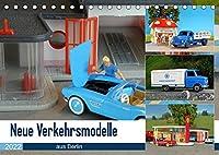 Neue Verkehrsmodelle aus Berlin (Tischkalender 2022 DIN A5 quer): Hier stehen die kleinen Modellautos im Fokus. (Monatskalender, 14 Seiten )