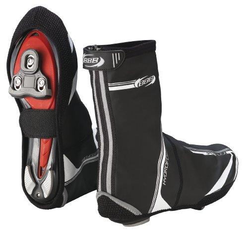 BBB Speedwear/Flex - Botín térmico de ciclismo para hombre, color negro, talla 45-46