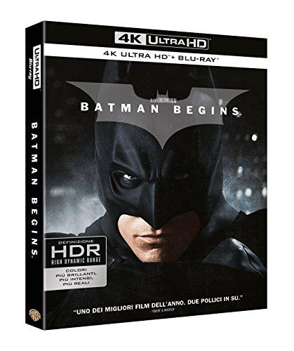 Batman Begins (4K Ultra Hd+Blu Ray) [Italia] [Blu-ray]
