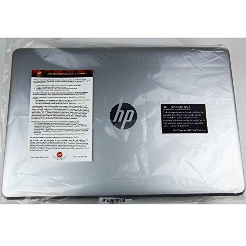 """CUK HP 15z, Natural Silver 15.6"""" HD Laptop PC - (AMD A10-9620P APU, 8GB RAM, 1TB SSHD, Radeon R5 Graphics, Windows 10) - Cheapest Affordable Student Notebook Computer"""