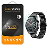 Supershieldz (3 Pack) for Samsung Gear S3 Frontier and Gear S3 Classic Tempered Glass Screen Protector, Anti Scratch, Bubble Free