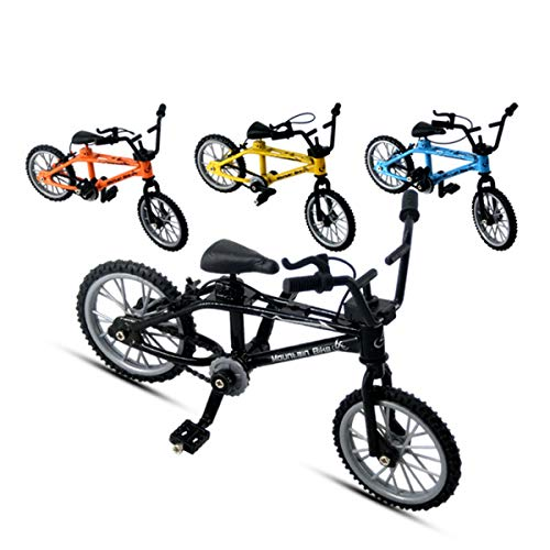 4 Pcs Finger Mountain Bike Mini Extreme Sports Miniature Finger Bicycle Cool Boy Toy Creative Game Set Collections