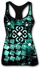 RRtanks Break Logo Benjam Women's Tank Top Sleeveless Printing O Neck Workout Training Tank for Girl Casual Shirts
