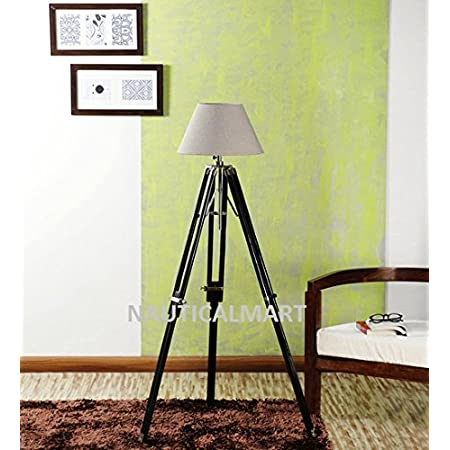 Nauticalmart Royal Marine Black Tripod Floor Lamp Stand Home Improvement
