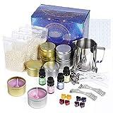 Czemo Kit de Fabricación de Velas, Juego de Regalo de Vela Perfumada Kit para Hacer Velas Complete...